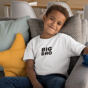 pregnancy announcement shirts for big brother