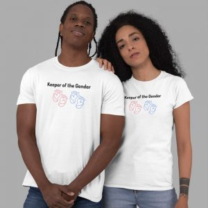gender reveal party shirts
