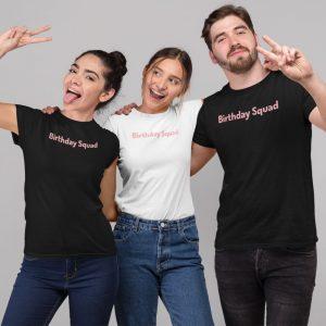 birthday squad shirts