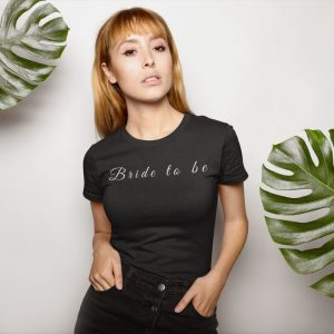 personalised bride to be shirt