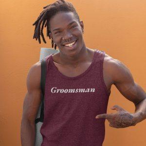 groomsmen tank tops
