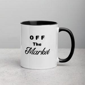 officially off the market mug