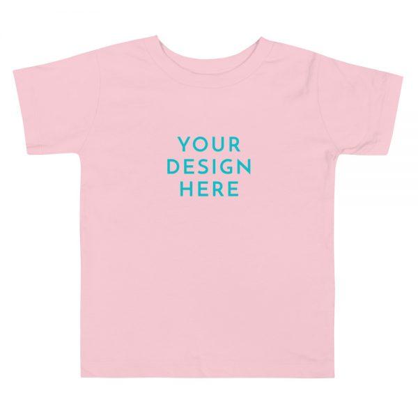 toddler premium tee pink front 603159d38e03e