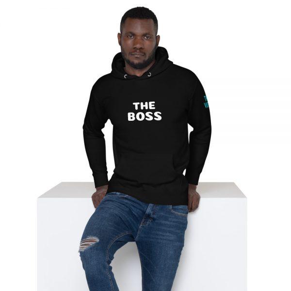 unisex premium hoodie black front 602a70dce7ac9