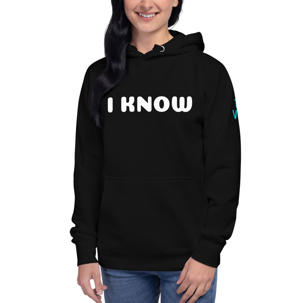 unisex premium hoodie black front 602bae2fc9ac2
