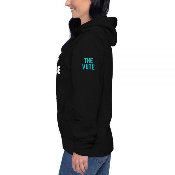 unisex premium hoodie black left 602a602730806