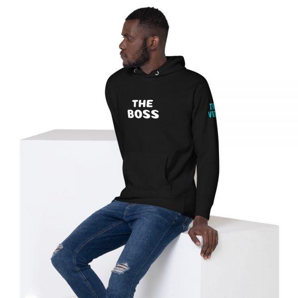 unisex premium hoodie black left front 602a70dce7b8c