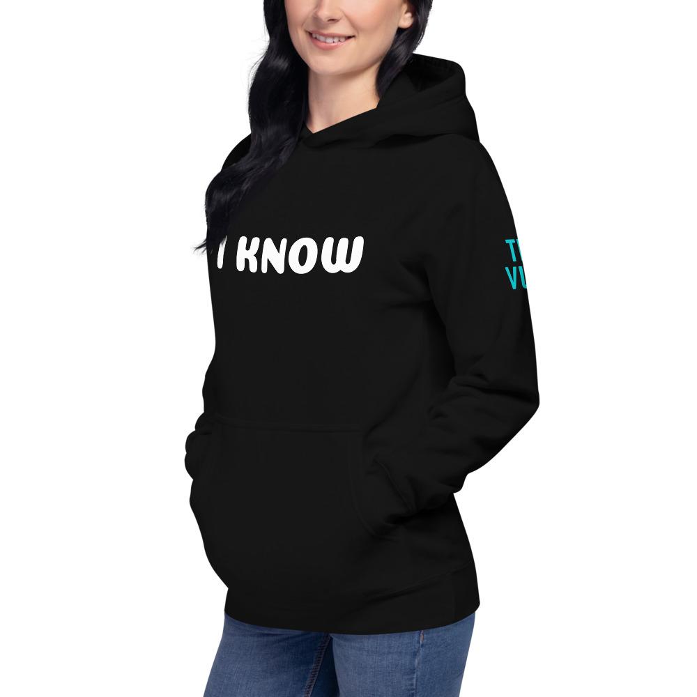 unisex premium hoodie black left front 602bae2fc9c36