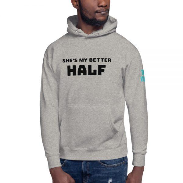 unisex premium hoodie carbon grey front 602bb086edc5d