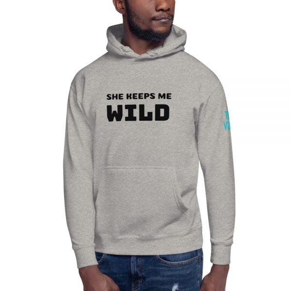 unisex premium hoodie carbon grey front 602bb2983824d