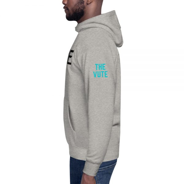 unisex premium hoodie carbon grey left 602ba9bc2a950