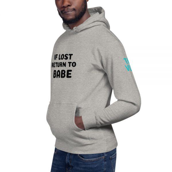 unisex premium hoodie carbon grey left front 602a5fb595ebc