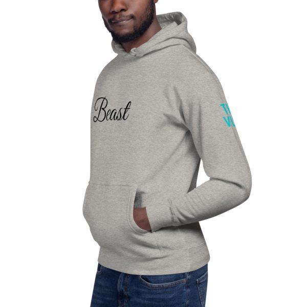 unisex premium hoodie carbon grey left front 602a6f051e58b