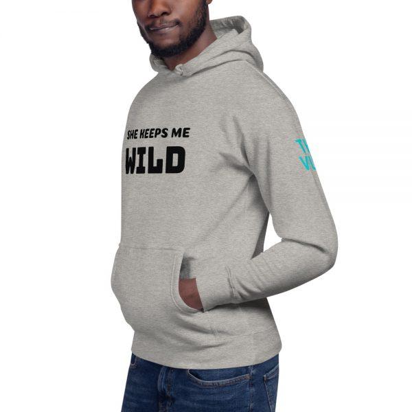 unisex premium hoodie carbon grey left front 602bb298385c7