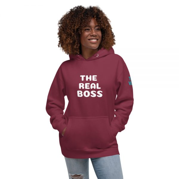 unisex premium hoodie maroon front 602a6fa4afb92