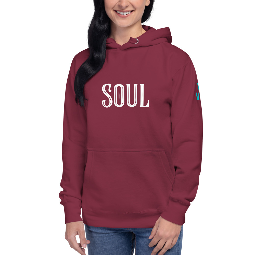 unisex premium hoodie maroon front 60311cb45dffc