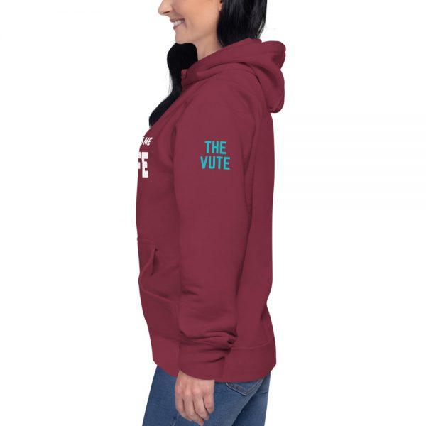 unisex premium hoodie maroon left 603119c517c23