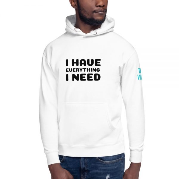 unisex premium hoodie white front 602a626b22449