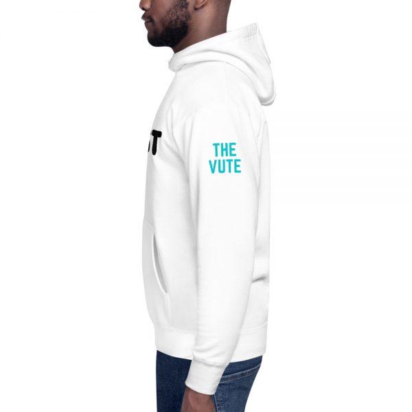 unisex premium hoodie white left 602bac61d5087