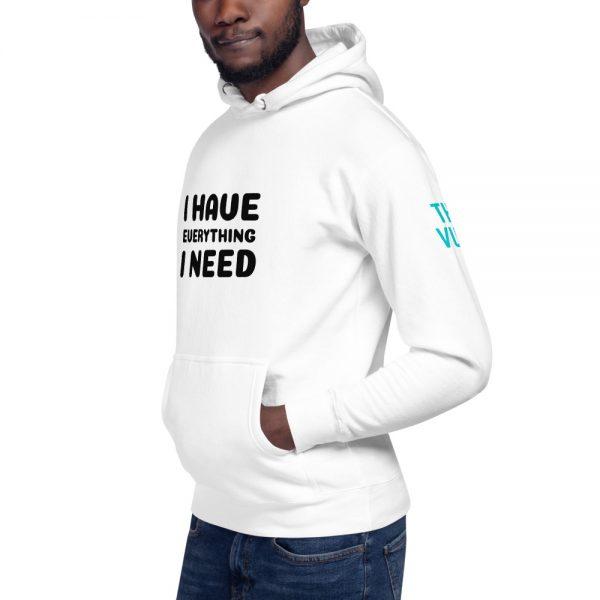 unisex premium hoodie white left front 602a626b22870