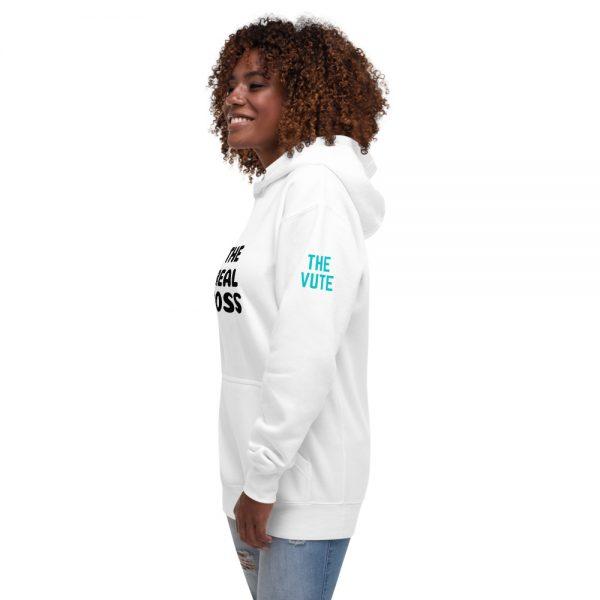 unisex premium hoodie white left front 602a702e2fa44