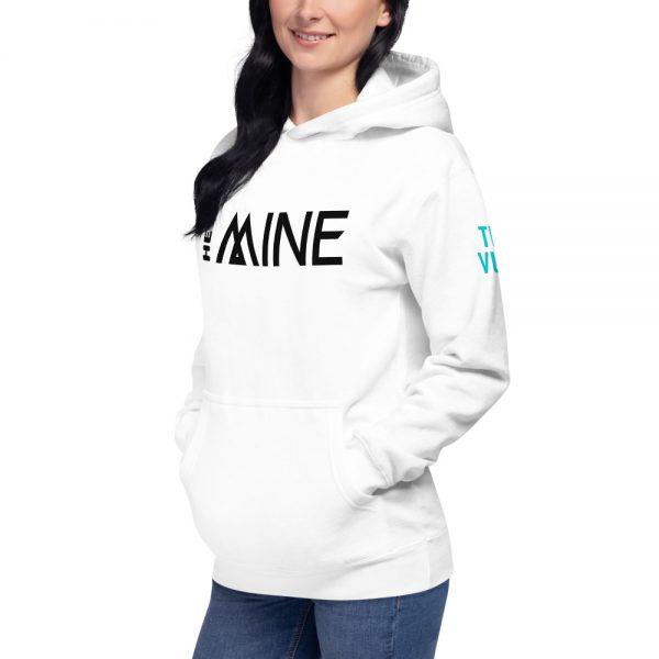 unisex premium hoodie white left front 602baafa122ef