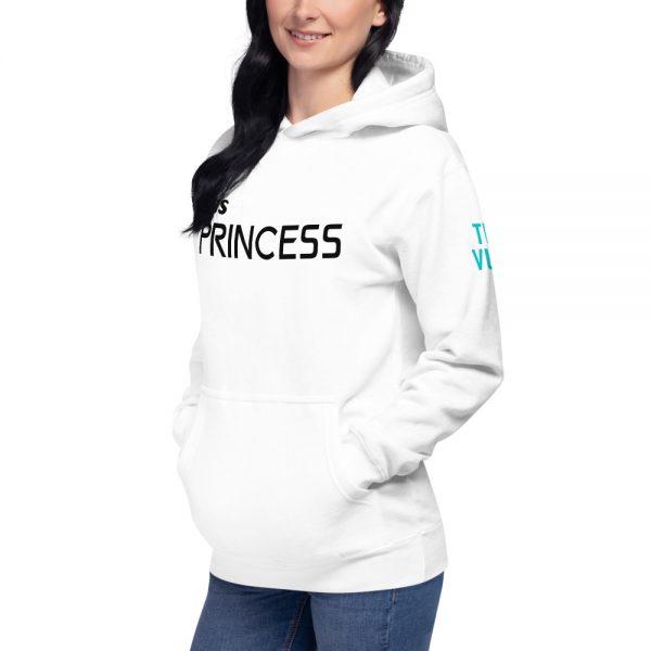 unisex premium hoodie white left front 602bb6de57277
