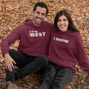 relationship couple hoodies